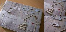 Album dokumentujący budowę domu. zuzdesign/facebook
