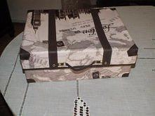 pudełko ozdobne- walizka.