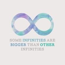 """""""Niektóre nieskończoności są większe od innych nieskończoności"""" : )"""