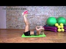 Płaski brzuch TreningFitness.com Ćwiczenia na mięśnie brzucha
