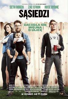 """"""" sąsiedzi """" Wszystko wskazuje na to, że świeżo upieczeni rodzice, Mac (Seth Rogen) i Kelly Radner (Rose Byrne) spełniają właśnie swój amerykański sen - mają śliczną c..."""