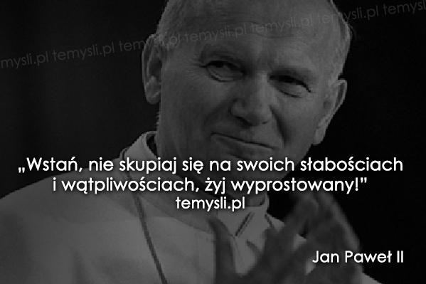 Jan Paweł Ii Najukochańszy Papież D Na Cytatymyśli