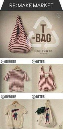 T-bag czyli t-shirt w formi...