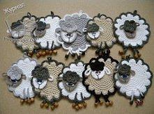 szydełkowe owieczki