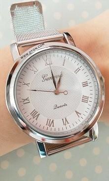 OTIEN Zegarek. Piękny srebrny!