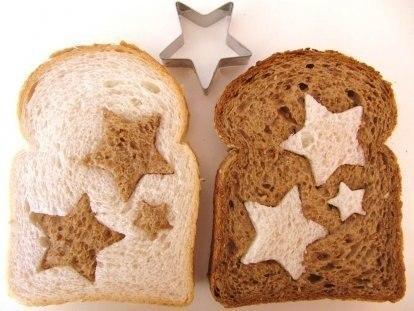 Chleb z gwiazdkami <3