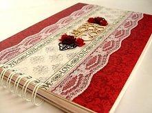 czerwona księga gości wesel...