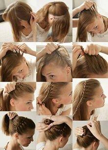 prosty pomysł na świetna fryzurę