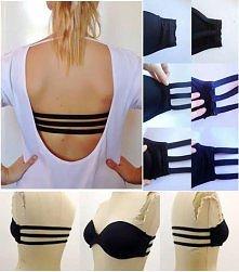 sliczny stanik do bluzek lub sukienek bez pleców,ktory moze zrobic kazda z nas SAMA  jak wam sie podoba ;)?