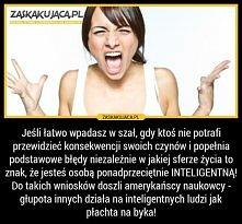 Jestem inteligentna! ;D