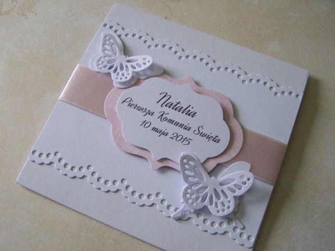 Zaproszenia I Komunia święta Zuzdesignfacebook Na Zaproszenia