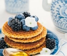 miodowe wafle, mniaam :)