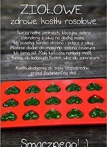 ziołowe kostki rosołowe