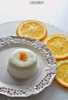 Panna cotta z pomarańczą