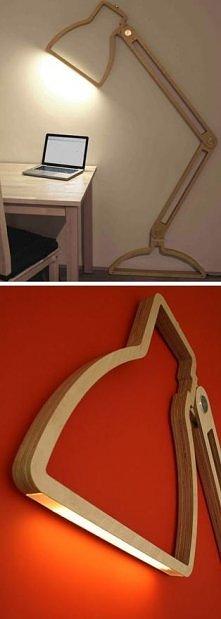 fajny pomysł na lampe