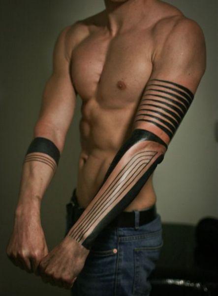 Męski Tatuaż Na Przedramieniu Na Tatuaże Zszywkapl