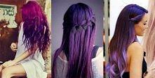 Fioletowy włosy