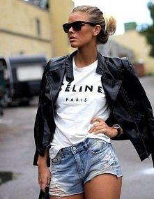 Koszulka Celine