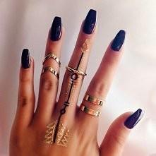 #jej #loveit #rings #nails
