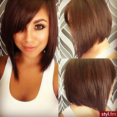 Zastanawiam Się Nad Taką Fryzurą Mam Dość Długie Włosy I Zasta Na