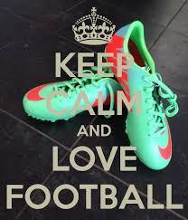 Keep calm and love football na keep calm zszywka keep calm and love football voltagebd Gallery