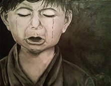 portret dziecka malarstwo