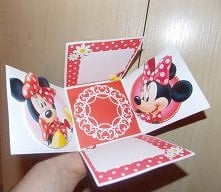 minnie mouse exploding box