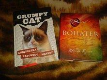 Otrzymane książki :)  chces...