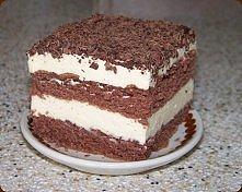 ciasto z czekoladowymi  wiórkami