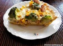tarta kurczak brokul