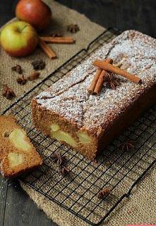 Jesienne ciasto z jabłkami ...