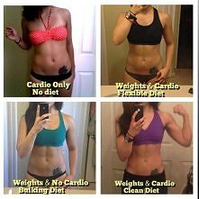 Weights & Cardio & Clean Diet