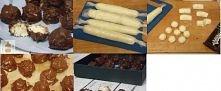 Mini Bounty w gorzkiej czekoladzie  Składniki:  200 g wiórków kokosowych 400 ml słodzonego mleka skondensowanego 200 g gorzkiej czekolady lub kuwetury  Przygotowanie:  Wiórki ko...