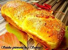 Jesienny puszysty chleb z ziołami prowensalskimi-perfekcyjny przepis