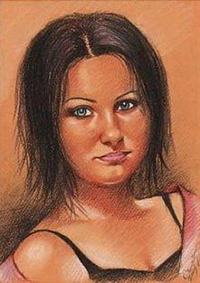 portret w kolorze