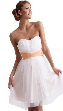 koktajlowa sukienka z szyfonu