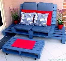 meble ogrodowe z palety