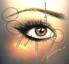 Jak powiększyć oczy makijażem – 8 tricków :) Brwi Przy makijażu powiększający...