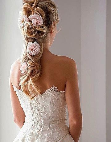 Piękna fryzura ślubna z Portalu Fryzjera