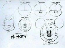 rysowanie myszki Mickey :)