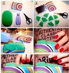 Łatwiejszy sposób na zmywanie paznokci!