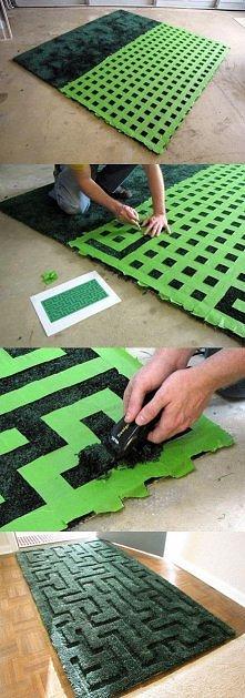 Jak przerobić stary dywan b...