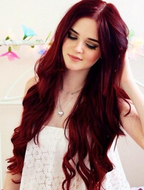 Czerwone Włosy Na Włosy I Fryzury Zszywkapl