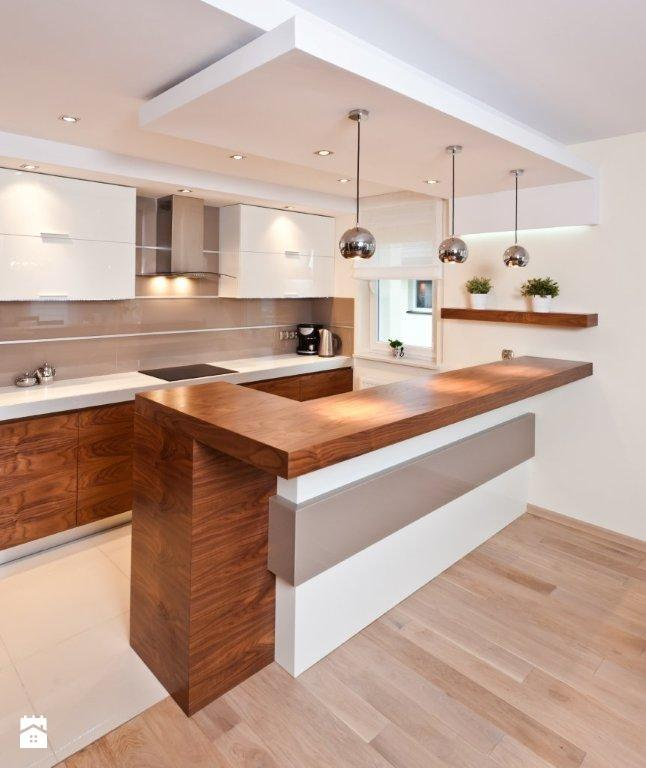 Kuchnia Otwarta Na Salon Na Pomysł Na Mieszkanie Zszywkapl