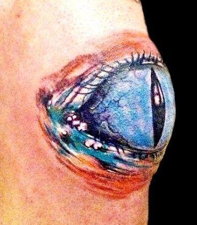 Oko Na Kolanie Na Tatuaże Zszywkapl