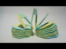 Jak złożyć sprężynę origami...