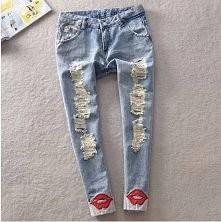 spodnie dziury, usta!!! 139zł  inspirationbutique@wp.pl