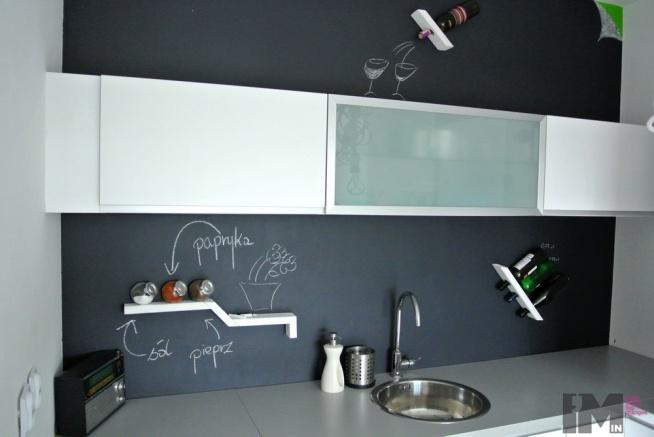 Farba Tablicowa W Kuchni Na Pomysł Na Mieszkanie Zszywkapl