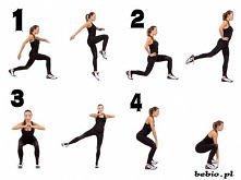 BRAZYLIJSKIE POŚLADKI bez cienia cellulitu!!! Każde ćwiczenie po 20x na każda stronę Całość x 3 !!!