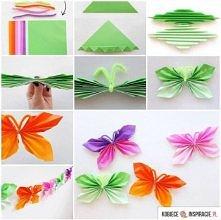 Słodkie i proste motylki <3